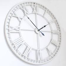 large roman big vintagewhite skeleton wall clock 120cm 47 diameter