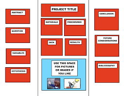 science fair display board templates your display science board template powerpoint version