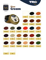 Meltonian Shoe And Boot Cream Color Chart Trg Shoe Cream Polish 26 Colors Available