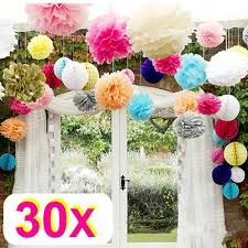 tissue paper flower centerpiece ideas rzctukltd 30 mix wedding decorations tissue paper pompoms 3 sizes
