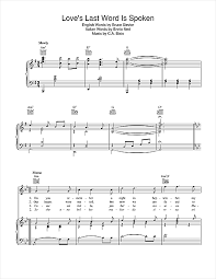music notes in words cesare bixio loves last word is spoken sheet music notes chords download printable piano vocal guitar right hand melody sku 40860