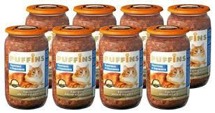 Корм для кошек <b>Puffins Консервы</b> для кошек <b>Телятина и</b> Баранина
