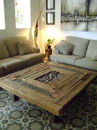 Rustic Coffee Table LOVE LOVE LOVE This, Would Put Seashells In Middle With  Glass On