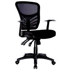 yarra ergonomic black mesh back task office chair