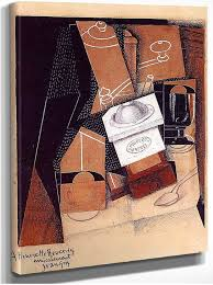 The Coffee Grinder 1916 By Juan Gris Art Reproduction from Wanford