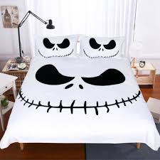 the nightmare before jack skellington face duvet cover sets bedding twin