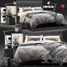 3dsky pro 3d model bed collection 1