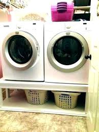 washer pedestal and dryer laundry pedestals appliance plans diy wooden