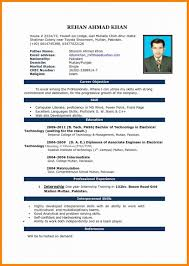 Resume Format Doc For Back Office Executive Admin Assistant In