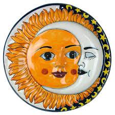 talavera sun moon wall hanging
