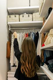 how we maximized space in our small city closet big reveal after