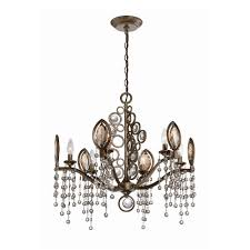 home depot bedroom chandeliers hampton bay somerset 3 light bronze chandelier gex8193a 3