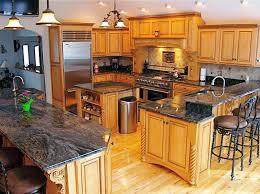 fascinating grey granite countertops with oak cabniets interior home honey oak kitchen cabinets with granite countertops