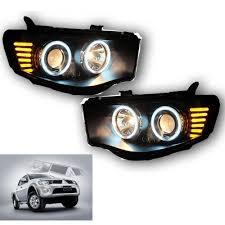 Ebay India Led Lights Details About Led Mitsubishi L200 Triton Pickup Strada Head Lamp Light Projector Free Shippin