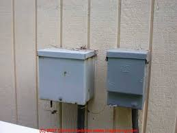 complete list of all air conditioning & heat pump system controls air conditioner circuit breaker outside at Ac Fuse Breaker Box