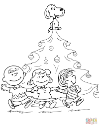 Small Picture Charlie Brown Christmas Coloring Pages To Print Inside itgodme