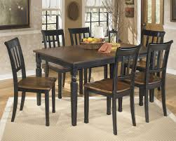 Two Toned Dining Room Sets