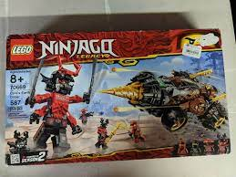Spielzeug BRAND NEW 70669 RETIRED!!! In BOX LEGO NINJAGO Cole's Earth  Driller Set triadecont.com.br