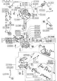 Carburetor ponents gasoline engine 4 cylinder supplement