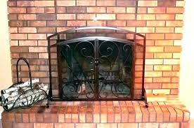flat panel ce screen single with doors x classic cast iron fireplace uniflame