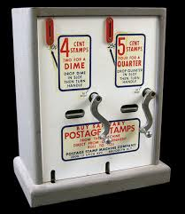 Old Stamp Vending Machine