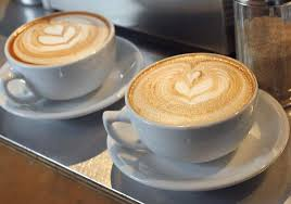 two coffee cups with coffee. Plain Coffee Just Two Cups A Coffee Day Can Reduce The Risk Of Liver Cirrhosis Say And Two Coffee Cups With The Independent