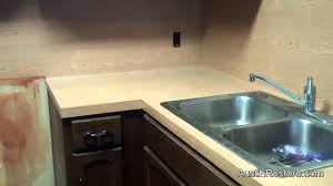 kitchen countertop paintPainting kitchen countertops  YouTube