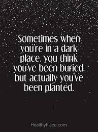 Positive Quote Amazing Positive Quote Sometimes When You´re In A Dark Place You Think You
