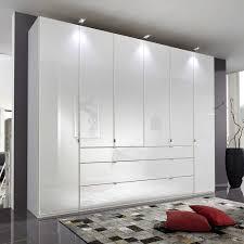 Schlafzimmerschrank Atze In Weiß Glas Beschichtet Wohnende