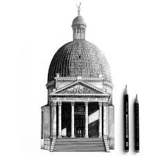 architectural drawings of famous buildings. Exellent Drawings San Simeone Piccolo In Venice Throughout Architectural Drawings Of Famous Buildings A