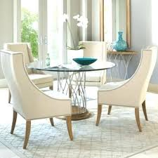 round glass top dining table and chairs glass round dining table dining room round glass dining