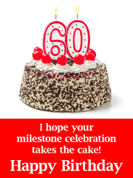 Happy 60th Birthday Messages With Images Birthday Wishes And