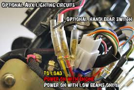 bdx harness for ruckus indication system datasheet buggydepot the yellow wire is the output wire and runs directly to the front of the bike to power your lights accessories