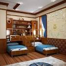 Фото дизайна детской комнаты для двух мальчиков
