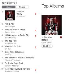 Comedy Album Charts Silent But Deadly Kevin Smiths First Official Comedy
