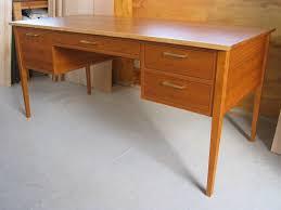 office writing table. Custom Made Cherry , Mid Century Modern Shaker Office/ Writing Desk Office Table