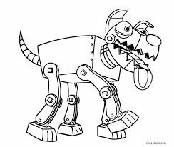 Small Picture Free Printable Robot Coloring Pages For Kids Cool2bKids