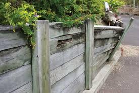 for long lasting retaining walls wood