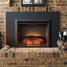 the outdoor company inch insert surround for electric fireplace 42 recessed is