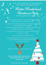 christmas party awards night 2015 winter wonderland swan xmas flyer 2015