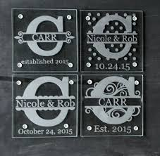 custom etched glass coasters 153 best glass etching images on