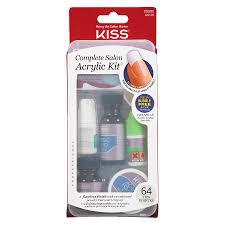 kiss plete salon acrylic nail kit