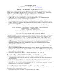 Sample Resume Project Manager project manager description for resumes Intoanysearchco 48