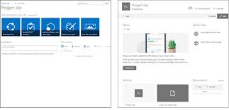 Sharepoint Team Site Template Whats The Difference Between Sharepoint Modern Team Site Vs