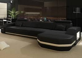 Unique Sectional Sofa White Cream Colored Sofas With Dark Pillows Modest  High End Design And Classic