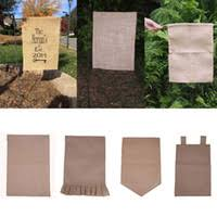 garden flags cheap. Garden Flag Flags - 31 Cm Burlap DIY Jute Ruffles Linen Yard Hanging Cheap