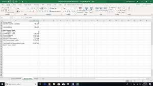 Pro Forma Income Statement Balance Sheet For Xyz