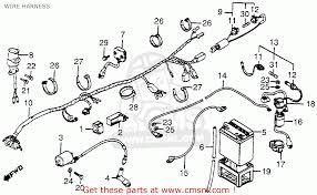 honda 3 wheeler wiring harness wiring diagram expert