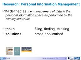The Gnowsis Semantic Desktop approach to Personal Information Managem