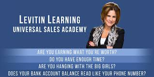 levitin learning universal s academy shari levitin accelerate your s career now learn how to consistently achieve your personal and professional goals